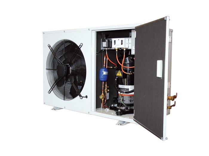J&E Hall R407F MT Condensing unit image 2